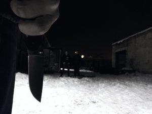 Ножевой бой
